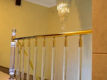 Pirinç Merdiven Korkuluğu Kod: PK-56