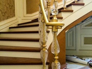 Pirinç Merdiven Korkuluğu Kod: PK-32