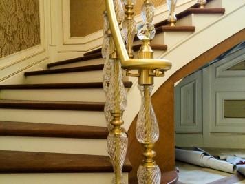 Pleksi Merdiven Korkuluğu Kod: PL-03