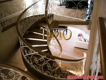 Ferforje Merdiven Korkuluğu Kod: FM-48