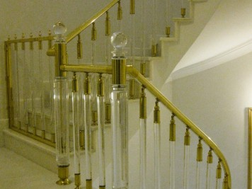 Pleksi Merdiven Korkuluğu Kod: PL-48