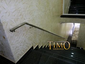 Paslanmaz Merdiven Korkuluğu Kod: PS-19