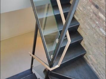 Paslanmaz Merdiven Korkuluğu Kod: PS-09