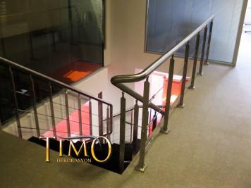 Paslanmaz Merdiven Korkuluğu Kod: PS-10