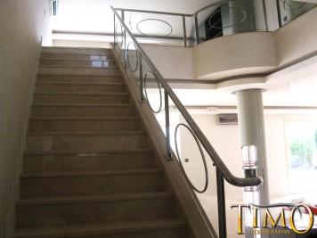 Paslanmaz Merdiven Korkuluğu Kod: PS-12