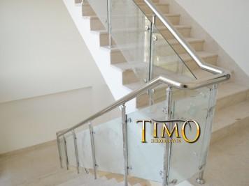Paslanmaz Merdiven Korkuluğu Kod: PS-16