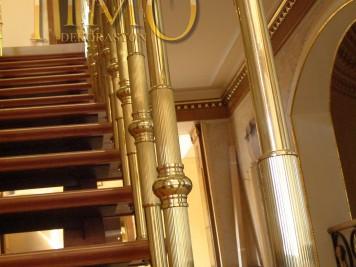 Pirinç Merdiven Korkuluğu Kod: PK-01