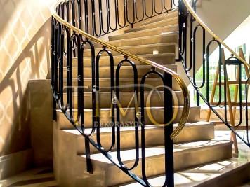 Pirinç Merdiven Korkuluğu Kod: PK-28