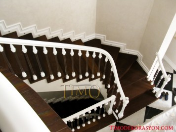 Pleksi Merdiven Korkuluğu Kod: PL-08