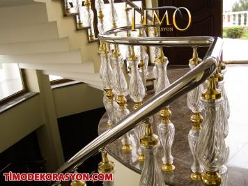 Pleksi Merdiven Korkuluğu Kod: PL-53
