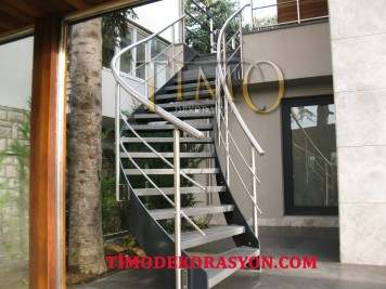 Merdiven kostrüksiyonu Kod: MD-03