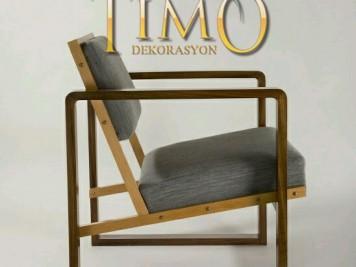 Sandalye Tasarımı Kod: ST-12